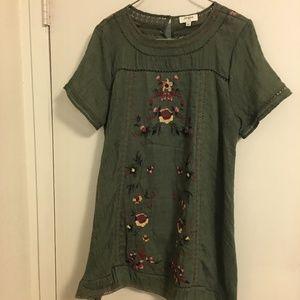 UMGEE Olive Dress Size L